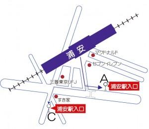東西線浦安駅バス停